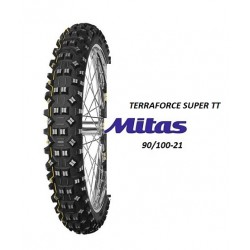 Cauciuc 90/100-21 Mitas Terraforce Super TT Galben