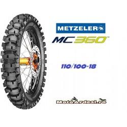 Cauciuc Enduro Metzler MC360 Mid-Soft 110/100-18